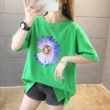 Женская футболка свободная мода 2020 новая Корейская одежда