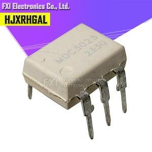 Image 1 - 10PCS MOC3023 DIP6 DIP optokoppler neue original