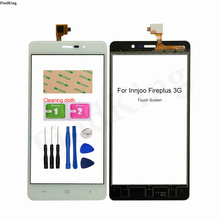 Touch Screen Panel For InnJoo Fire Plus 3G Touch Screen Digitizer Panel Lens Sensor Repair Front Glass Replacement Part