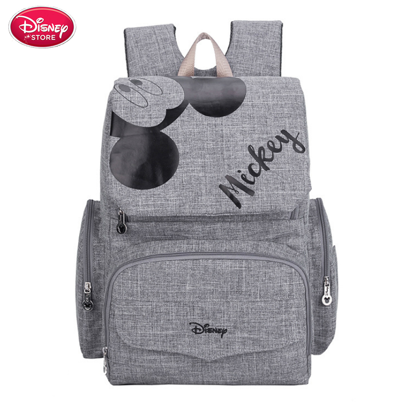 Disney Diaper Bags Mickey Minnie Maternal Stroller Bag Nappy Backpack Maternity Travel Baby Mommy Bag Diaper Mom Backpack