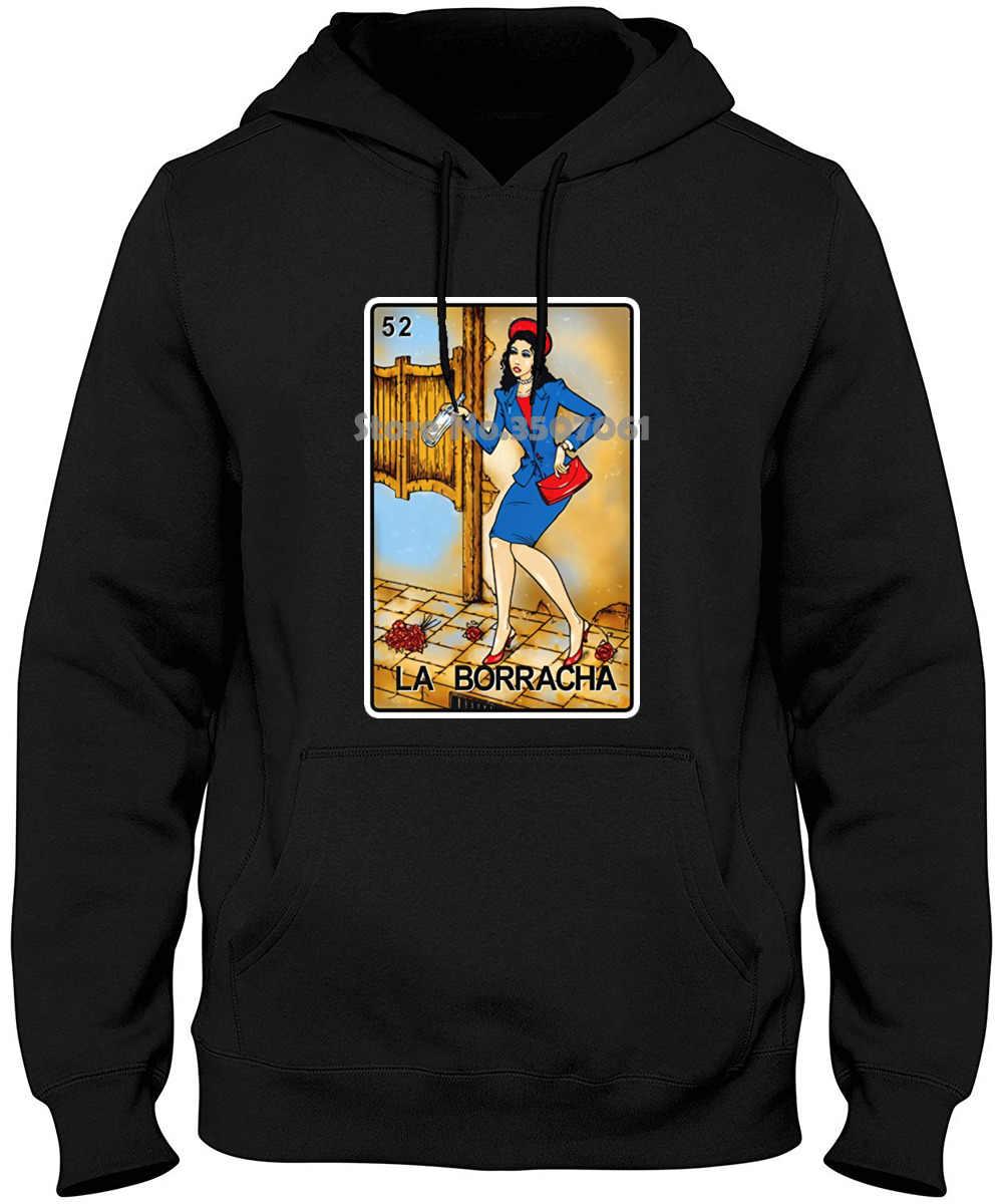 Булавки и кости loteriострый La Boracha Мексиканская лотерия Забавный хлопковый топ хип-хоп летнее зимнее пальто уличная футболка