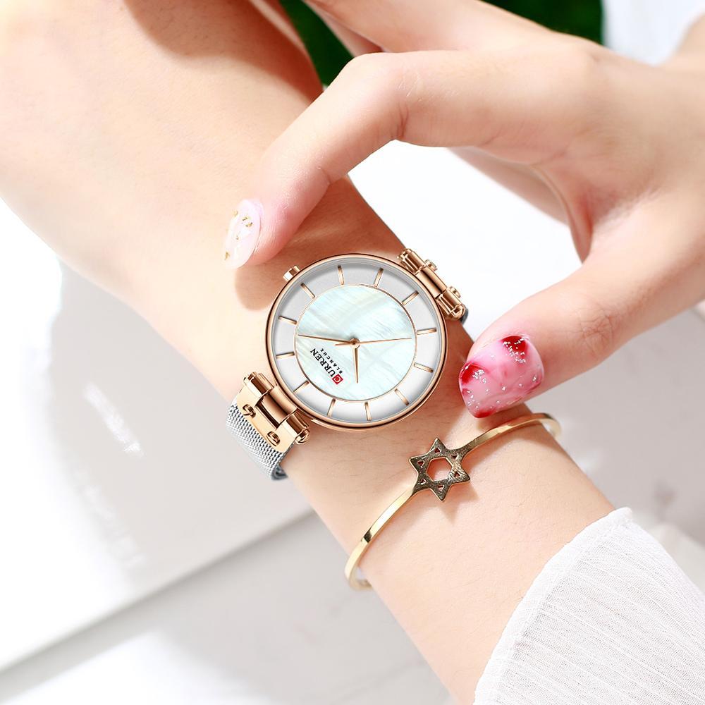 CURREN Creative Simple Quartz Watch 9056