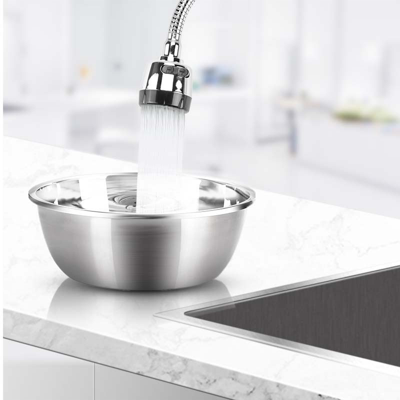 Kitchen 360Degree Rotatable Spout Single Handle Sink Basin Faucet Adjustable Solid Brass Pull Down Spray Mixer Tap Deck Mounted Pakistan