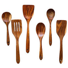Teak Wooden Spoons Soup Spoons Colander Spatula Small Rice Spoon For Eating Mixing Stirring Cooking High Quality Kitchen Tools