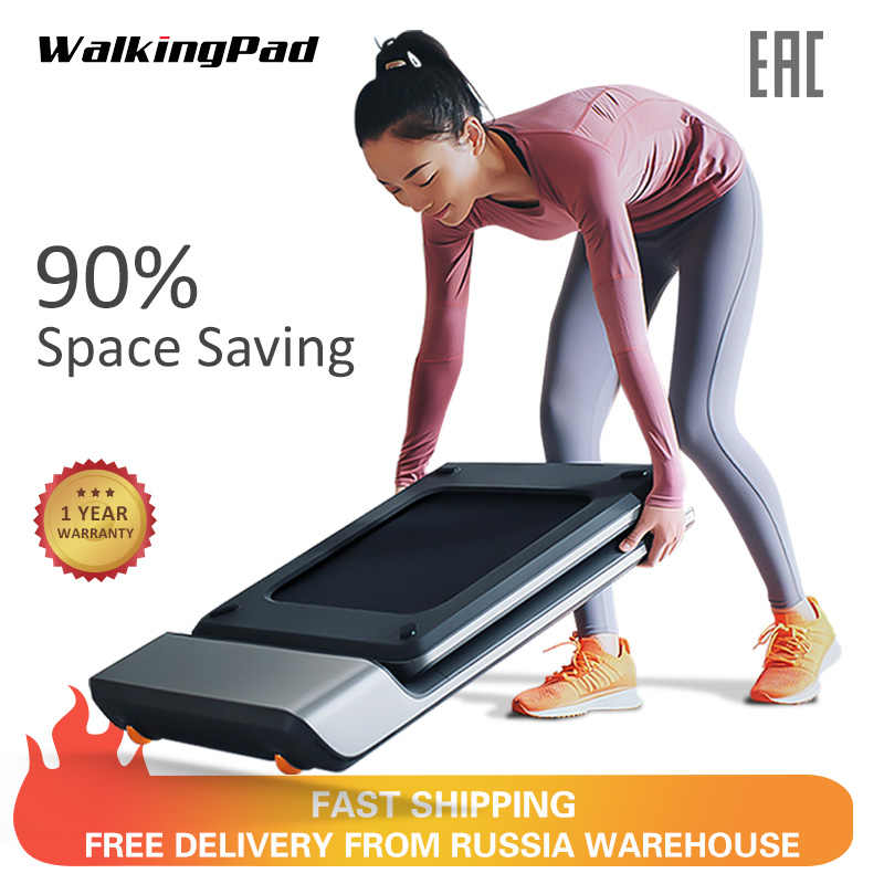WalkingPad A1 สมาร์ทไฟฟ้าลู่วิ่งพับได้ Jog Space Walk เครื่องแอโรบิคกีฬาฟิตเนสอุปกรณ์สำหรับ Home Xiaomi Ecosystem