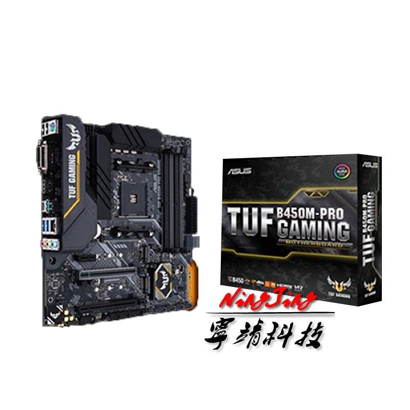 ASUS TUF B450M PRO GAMING B450M AMD B450 DDR4 3466MHz 128G,M.2, HDMI,DVI D,SATA 6Gb/,USB 3.1 Support R3 R5 R7 R9 Desktop AM4 CPU|Motherboards| - AliExpress