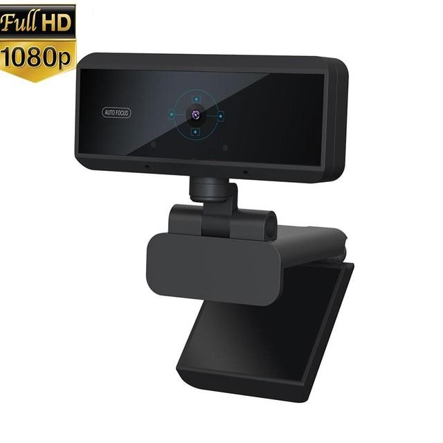 オートフォーカスusbカメラデジタルフルhd 1080pウェブカメラとマイクのコンピュータのwebカメラ 5 メガピクセルのwebカム веб камера ドロップシップ
