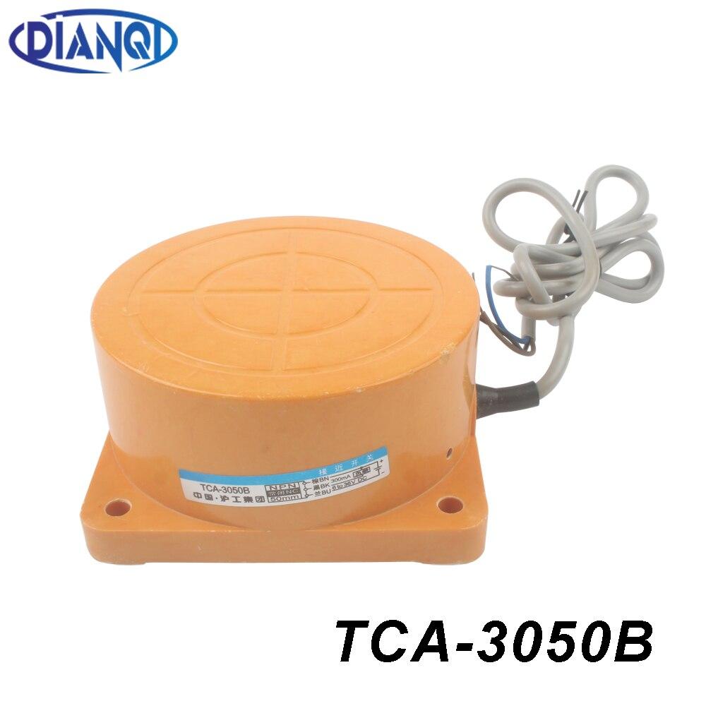Индуктивный датчик приближения TCA-3050B NPN 3 провода NC DC 6-36 в расстояние обнаружения 50 мм датчик приближения Переключатель