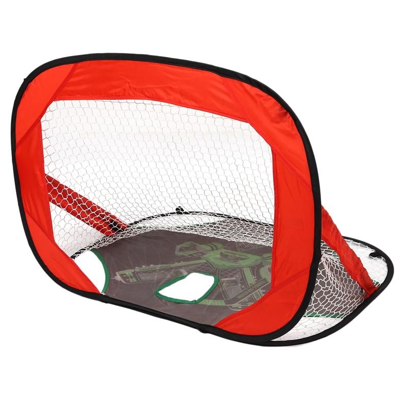 Folding Hockey Shooting Target Ice Hockey Goal Soccer Nets Perfect For  Backyard Indoor Outdoor Hockey Practice Sport Training