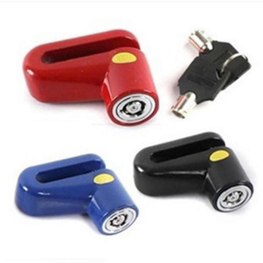 Anti-pencurian Rem Disk Rotor Kunci untuk Skuter Sepeda Motor Safetylock untuk Skuter Sepeda Motor Keselamatan Baru