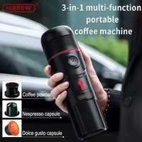 HiBREW портативный автомобиль кофе машина Кофеварка капсула эспрессо бытовой офис исходящий кофе машина