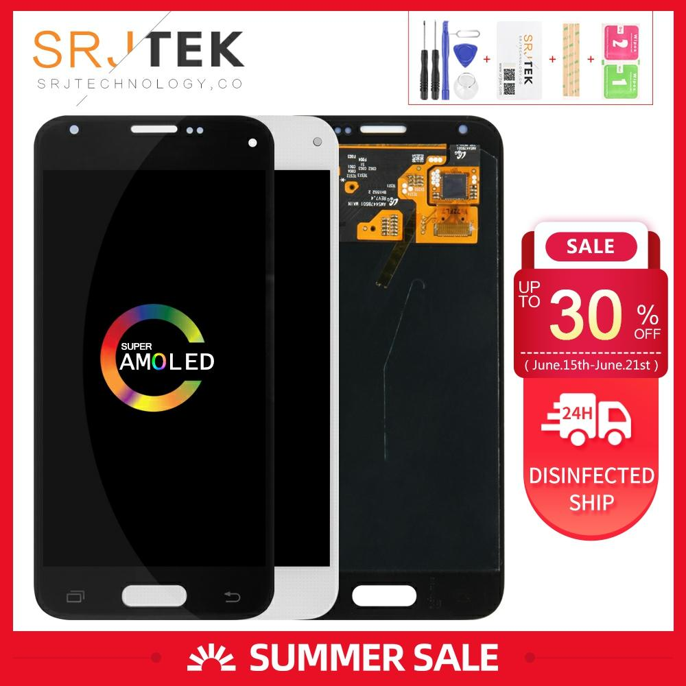 AMOLED/OLED/TFT Screen For <font><b>Samsung</b></font> Galaxy S5 Mini <font><b>Display</b></font> G800 LCD <font><b>G800F</b></font> LCD G800H Touch Digitizer Glass Assembly G800M Screen image