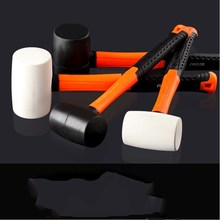 Rubber Round Head Plastic Handle Hammer Decoration Tool Is Suitable For Tile Floor Installation Home Ba