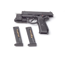 1/6 scale 92 type single pistol model accessories detachable magazine secret agent weapon for 12 inch action figure body