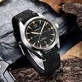 Лидирующий бренд Corgeut 41 мм Мужские часы miyota 8215 автоматические роскошные механические полностью стальные сапфировое стекло Мужские наручны...