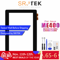 Original For 10.1 for ASUS VivoTab Smart ME400C ME400CL ME400 5268NB 5268NC Digitizer Touch Screen Glass Panel Lens Replacement