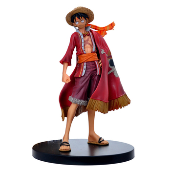 one piece dxf usopp the grandline men 15th edition vol 2 figure japan anime collectible mascot kid toys 100% original One Piece Luffy Theatrical Edition 15th Anniversary Action Figure Juguetes Anime Figures Model Toys for Kids Christmas Gift 17cm
