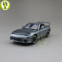 1/32 JACKIEKIM MAZ DA RX 7 RX 7 Diecast Model CAR Toys for kids children Sound Lighting gifts