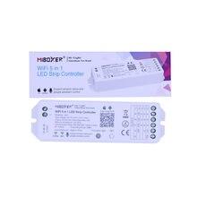 Milight WL5 5 in 1 LED WIFI Controller Für RGBW RGBWW CCT Einzigen farbe led streifen licht Alexa stimme telefon app Re