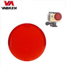 Acción Cámara impermeable caso filtro para h9 h9r h8r v8s h3r w9s w9