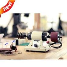 עור ליטוש צחצוח מכונה עור קצה טחינת מכונת 8000rpm110V