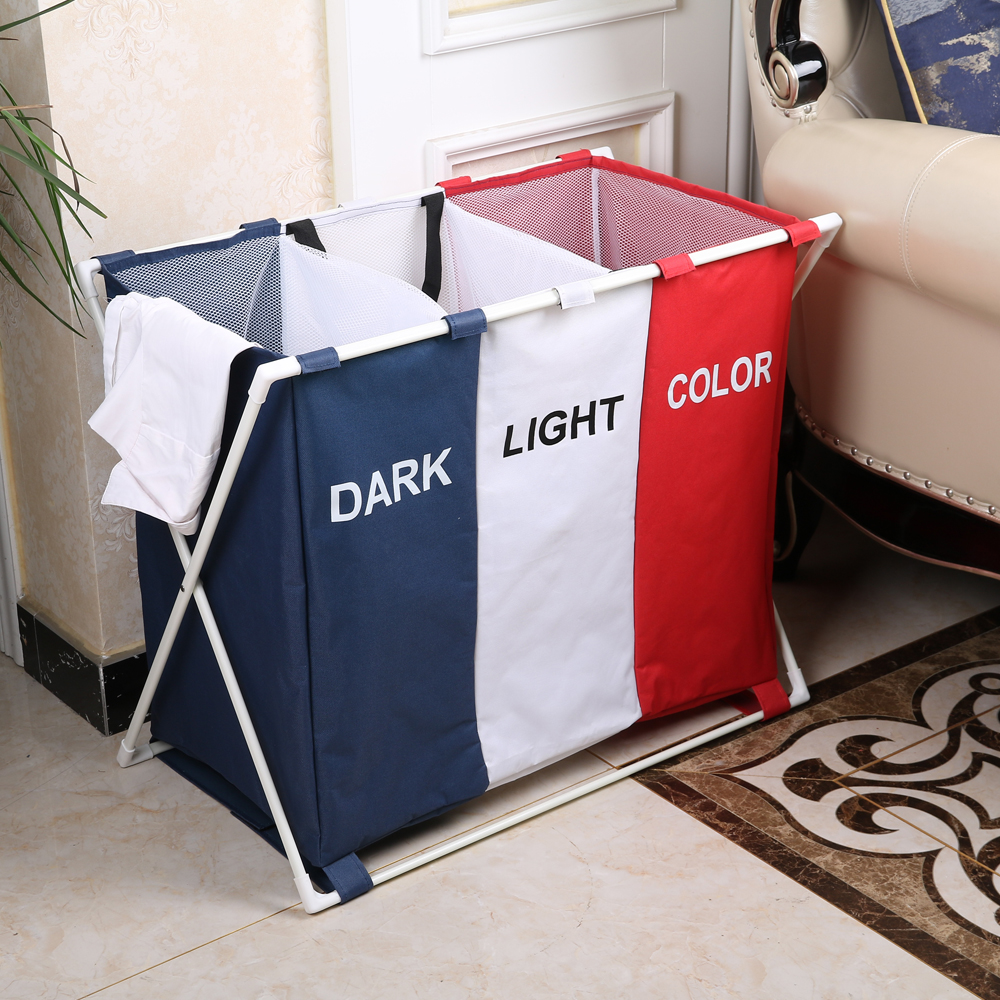 Shushi New Arrival Collapsible Waterproof Laundry Bags & Baskets Foldable Dirty Storage Bag  Portable Laundry Hampers Organizer