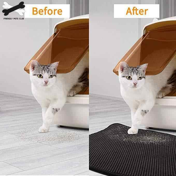 Esteira impermeável da maca do gato do animal de estimação da dupla camada que prende a maca do gato do animal de estimação esteira limpa produtos da almofada para os acessórios dos gatos