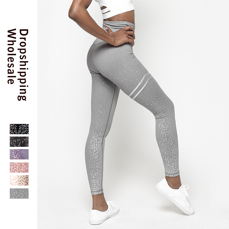 LAISIYI Women Leggings Print Pants Women Unique Fitness Leggings Workout Sexy Push Up Wear Elastic Slim Pants Leginsy Damskie