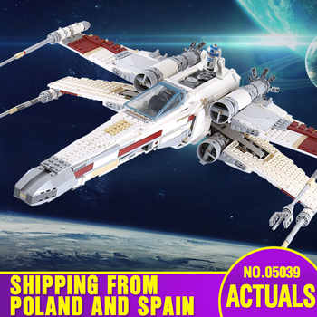 From Spain DHL 05039 Star Series Wars The 10240 X Red Five Starfighter wing Set Building Blocks Bricks New Kids Toys as Gift - DISCOUNT ITEM  20% OFF All Category