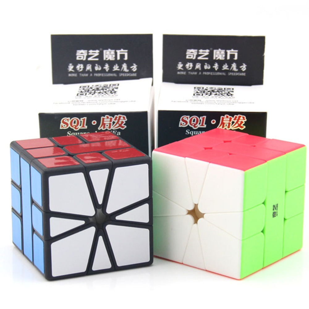 Newest Qiyi Qifa SQ-1 Magic Cube Puzzle Square 1 Speed Cube SQ1 Mofangge Twisty Learning Educational Kids Toys Game Sticker