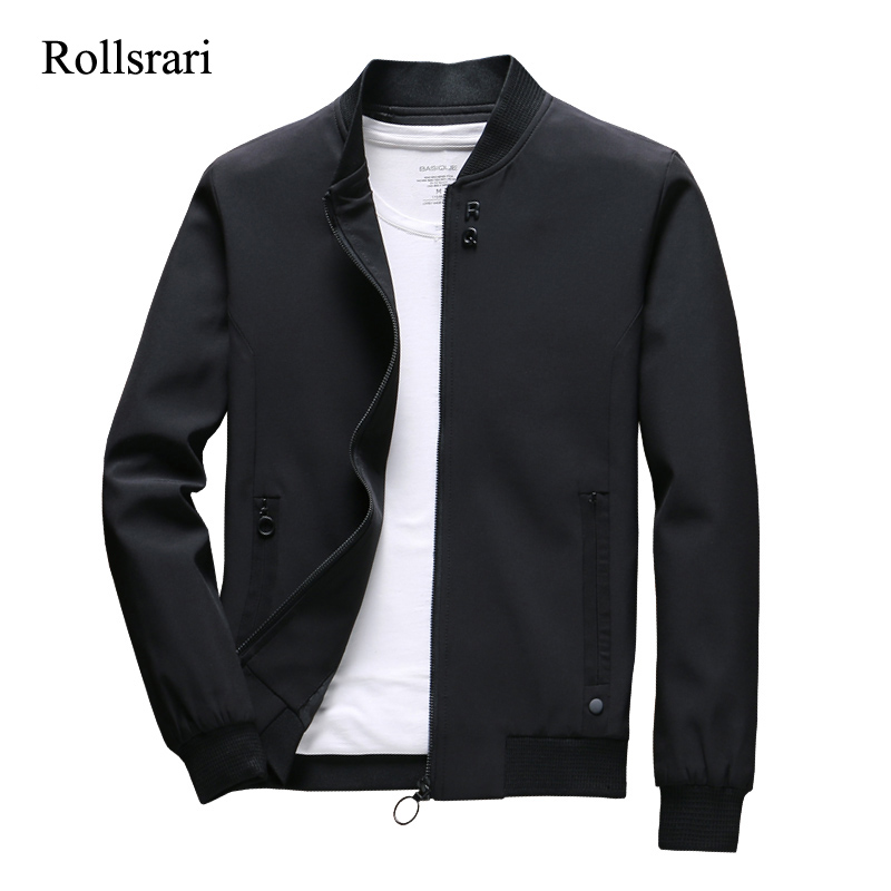 Spring Autumn Jackets Men New Casual Solid Fashion Streetwear Thick Winter Jacket Mens Jaqueta Slim Fit Outwear High Quality 105 1