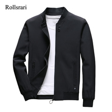 Autumn Jackets Outwear Spring Slim-Fit Fashion Men Casual Solid 105 Jaqueta Thick High-Quality