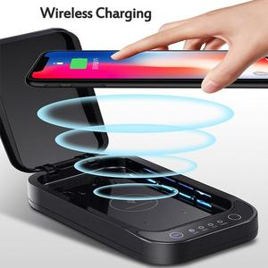 Image 4 - UV Disinfection Box Sanitizer Charger Wireless Charger For Smart Phone Headphones Mask Watch UV Sterilizer Kill 99.9% Viruses