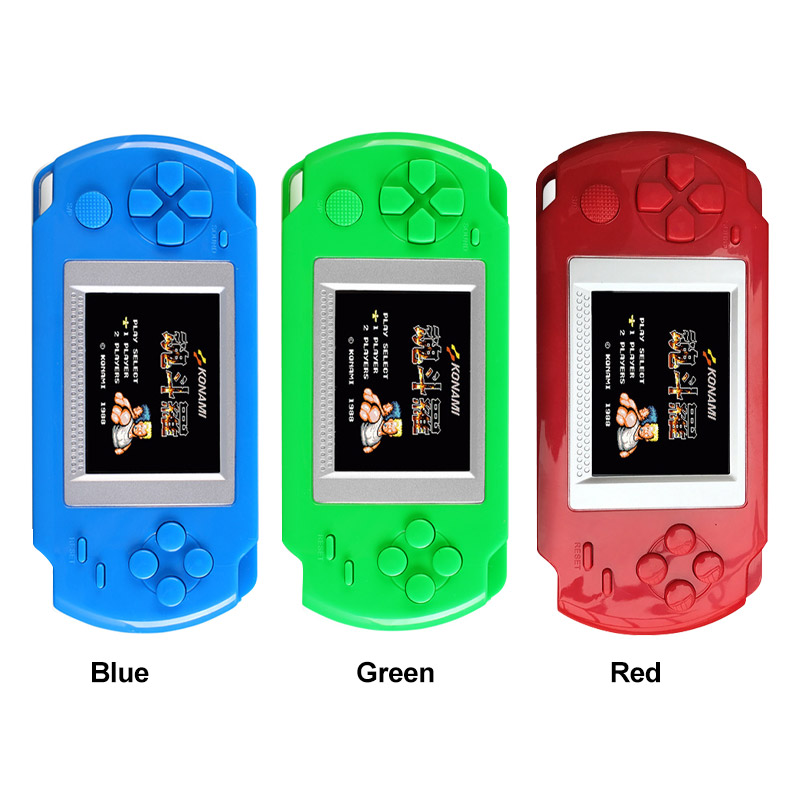 For Kids Gift Mini Video Game Console With 268 Different Games 502 Color Screen Display Handheld Game Consoles Retro Game Player