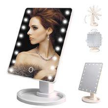 Питание от аккумулятора зеркало для стола зеркала макияжа косметический