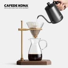 SERVER-FILTER-PAPER Coffee-Sets Hand-Dripper Cafede Kona Pour Spout-Kettle Long