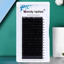 Eyelashes Extension lashes Mink Eyelash Extensions False Eyelashes Individual Lashes For Building Silk Volume Lashes Tools genie shadow lashes individual lashes double curl and length faux mink fit for volume eyelash extension make up eye lashes