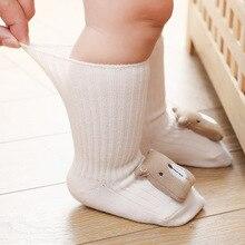 Socks Newborn Baby-Girls Anti-Slip Animal Infant Winter Cotton Cartoon Autumn Soft Spring