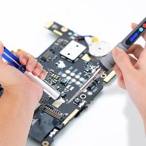 Image 5 - Kit de combustión con pantalla LCD Digital Kit de soldadura de grabado, pirograbado, pluma termostática controlada Digital, herramienta para artesanía de madera, 42 Uds.