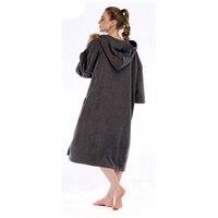 Microfiber Dry Water Absorbing Bathrobe Beach Poncho Bath Towels