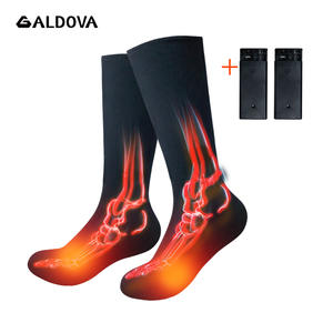 Heated-Socks Cycling Rechargeable-Battery Cold-Feet Electric Skiing Sport Outdoor Winter