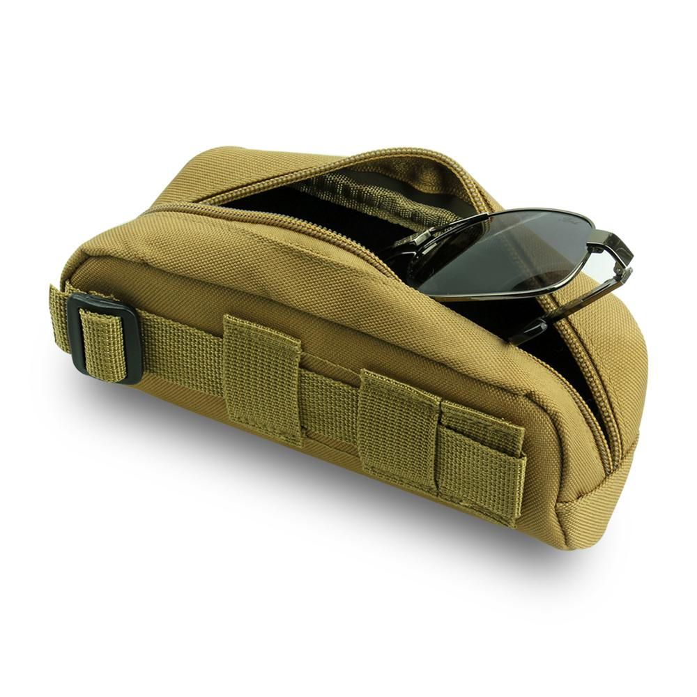 Outdoor Military Camo Glasses Bag Multi-purpose Tactical Accessory Bag Xmas Gift