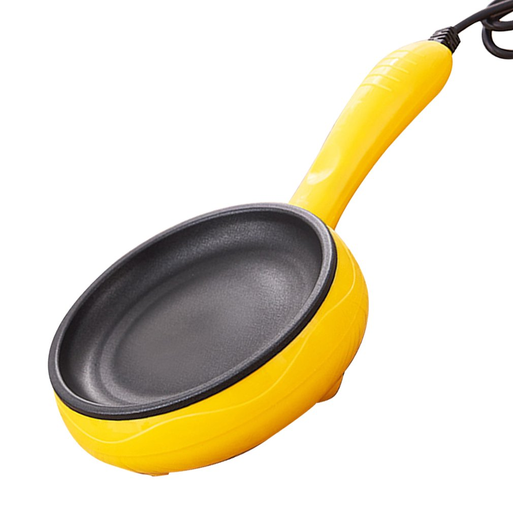 Breakfast Artifact Automatic Power Off Omelet Boiled Egg Steamed Egg Electric Omelet Pot Double-Layer Mini Electric Frying Pan