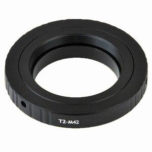 Image 3 - 望遠鏡のための顕微鏡T2 tレンズM42 リングマウントチューブT2 M42 アダプタキット