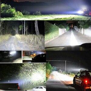 Image 5 - CO светильник суперъярсветодиодный светильник Панель 6D 8 50 дюймов, комбинисветодиодный Светодиодная панель для внедорожника, для Lada, грузовика, 4x4, внедорожника, вездехода, Нива 12 В, 24 В, автомобисветильник фара дальнего света