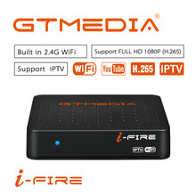Nieuwe Collectie GTmedia IFIRE TV Box 4 K HDR STB BOX Ultra HD WIFI Xtream IPTV Stalker IPTV Youtube Set top Box Media Player Internet(China)