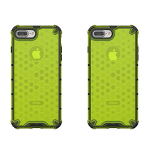Hybrid TPU PC Armor Case For iPhone11 11 Pro Max XR XS X 7 8 6 6S Plus Honeycomb Clear Shockproof Cover