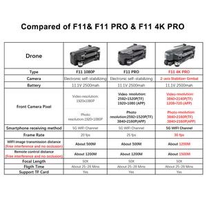 Image 3 - SJRC F11 4K PRO drone mit 2 achsen gimbal stabilisator kamera F11/F11 PRO GPS Drone 5G Wifi 1080P/2K Cam Quadcopter Vs SG906 Eders