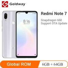 Global ROM Xiaomi Redmi Note 7 6GB RAM 64GB ROM Mobile Phone