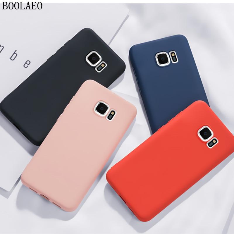 Soft Silicone Case For Samsung Galaxy A50 A70 A20 A30 A40 A10 A60 Note 9 10 8 S8 S9 S10 Plus Lite S10e S7 Edge Thin Phone Cover